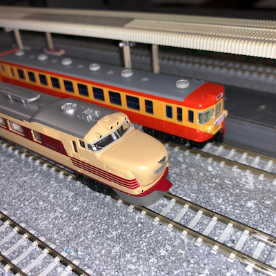 KATOの155系修学旅行電車「ひので・きぼう」の激走!の記事に添付されている画像