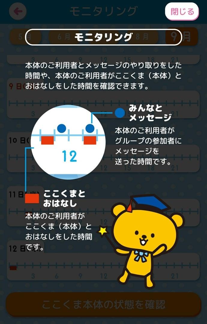 カワイイ熊ちゃんが話し相手☆高齢者の見守りロボット ...