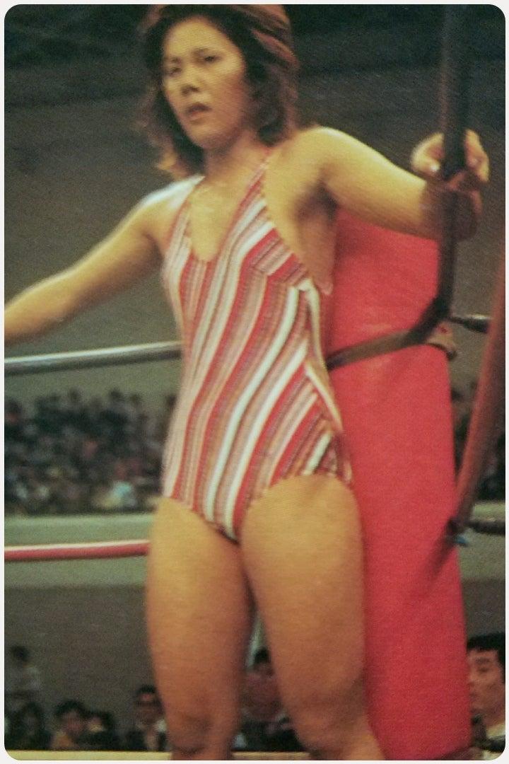 1977年マキ上田vs外国人、、、  ...
