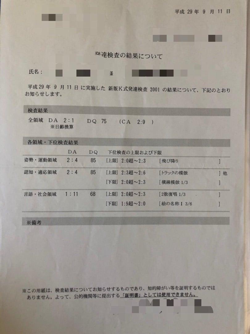 新版 k 式 発達 検査 発達指数(DQ)とは?...