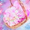 羊毛フェルト : 花フェルト®︎のレッスン♡ウェットフェルトで作るソーイングケースの画像