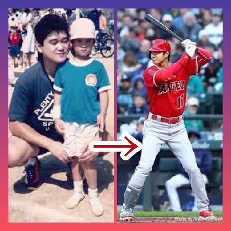 大谷翔平選手の少年時代♩