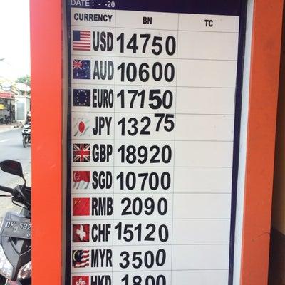 バリ バリ島 換金 レート 為替 手順 方法 詐欺 円 インドネシアルピア 換金の記事に添付されている画像