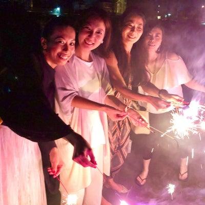 アマンダンブルー鎌倉BBQ後の、花火 in 由比ヶ浜♪の記事に添付されている画像