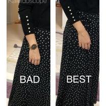 ▪️長袖▪️ 袖口のバランスに、要注意!の記事に添付されている画像
