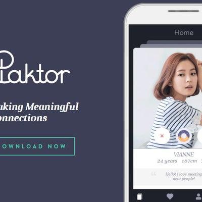 Paktor(パクトル) アジア版ティンダーTinder!日本人はほぼいない。英の記事に添付されている画像