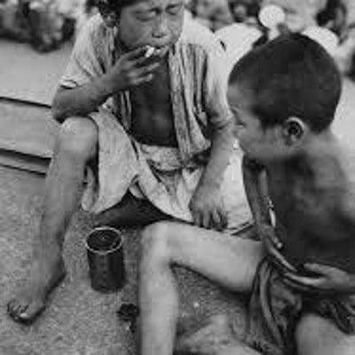 戦争孤児(浮浪児と呼ばれて)の記事に添付されている画像