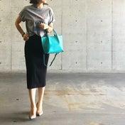 UNIQLOタイトスカートは脱・コンサバに。