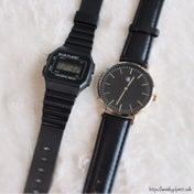 【ダイソー購入品】100均クオリティを超えた!大人気の腕時計♡