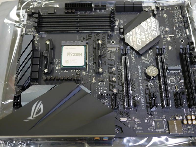 Ryzen 5 2600XでUbuntu Linux用に組む | PC元気化ブログ