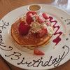 ☆パンケーキでバースデーお祝い☆の画像