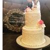 お兄さまの結婚式のお祝いのクレイケーキの画像