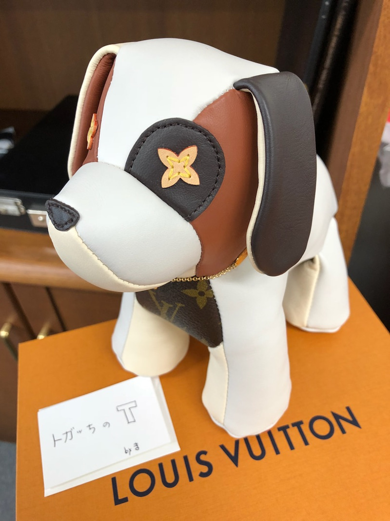 M.Kさんから、ルイ・ヴィトン犬(...