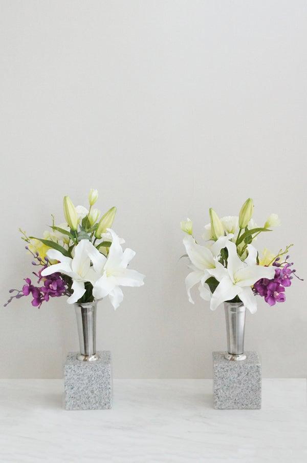 墓花 造花 本物みたい アートフラワー
