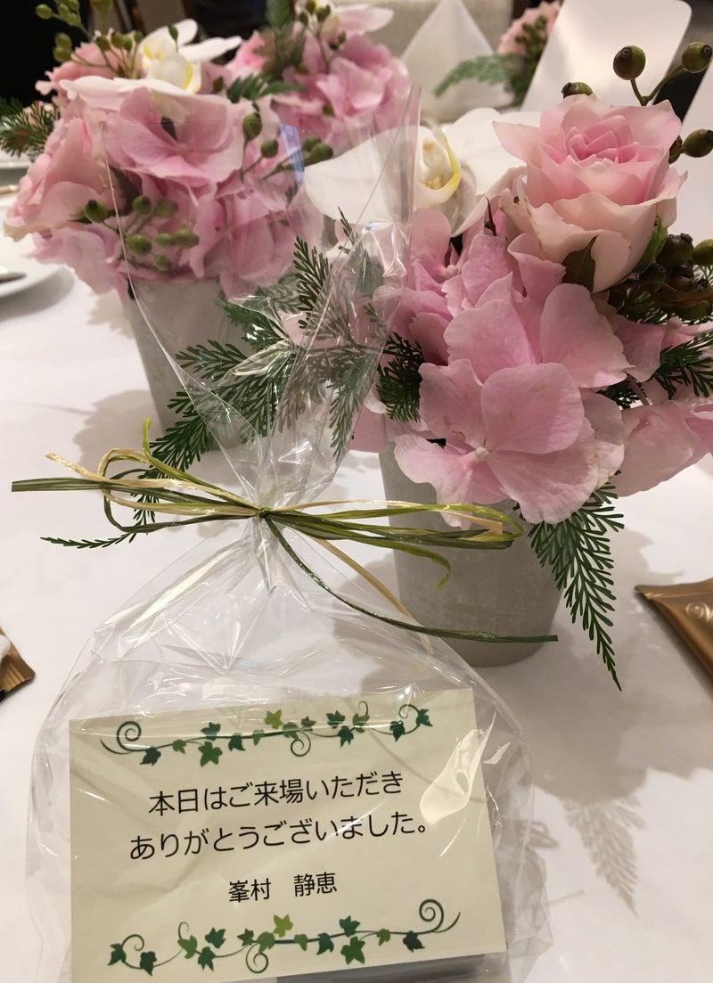 お花とカード