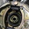 ジョグのフロントブレーキ固着の画像