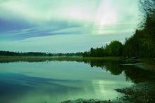 グリーン オーロラ (オーロラ) フィンランド(123RF)