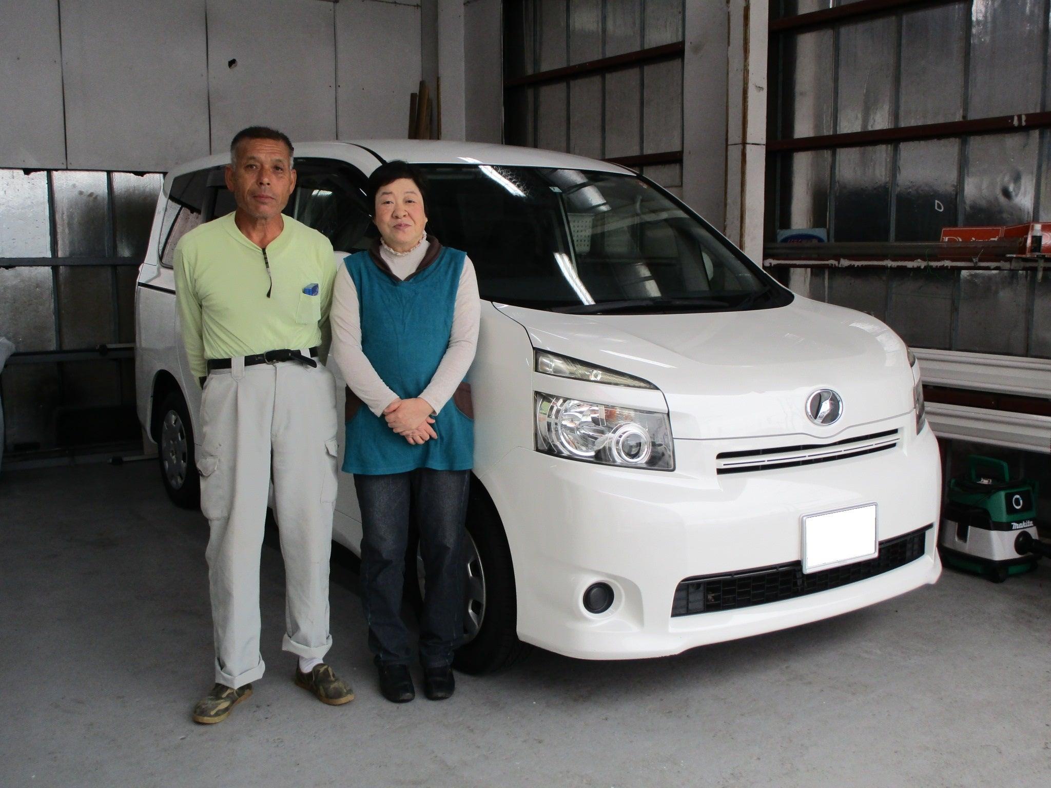 茨城県K様 ヴォクシートランスX ご購入ありがとうございました♪