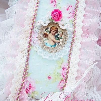 ロココ調ローズリボンフレーム&聖書カバー ♡の記事に添付されている画像