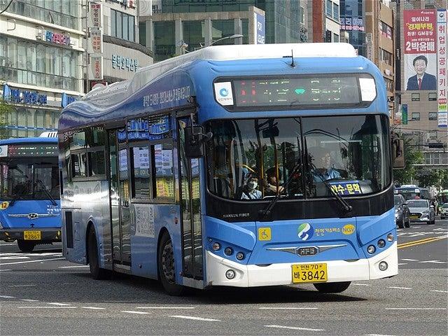 仁川市 富平駅バス乗り場 | 世界...