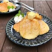 【材料3つ!混ぜて焼くだけ】プリンのもっちりプチパン