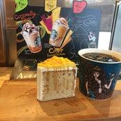 【絶品秋の味】スタバのオータムブレンドとスイートポテトシフォンケーキ♡