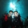 青の洞窟ダイビング!!体験ダイビングもFUNダイビングも任せて安心のテイクダイブ♪パラセーリングの画像
