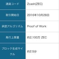 ジーキャッシュ(ZEC)とは??の記事に添付されている画像