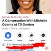 オバマ夫人がボストンに来る!!