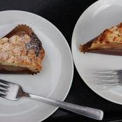 スタバのアップルパイ食べ比べ アップルクランブルパイ