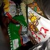 今日も・・・駄菓子屋さんで、少しお菓子を買って来た(¯―¯٥)☆彡。 耳塚菓子店(郡山城内)!。