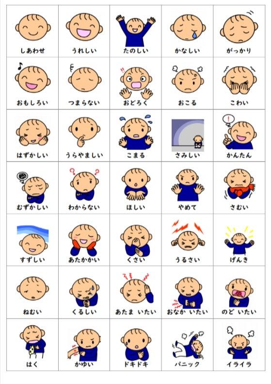 SST、感情カード | 発達障害ブラザーズ