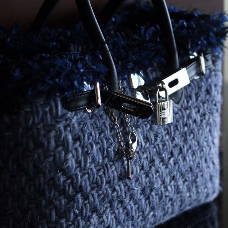 fdd31beb9901 画像 Crochet Birkin デニムラインにアレンジ の記事より