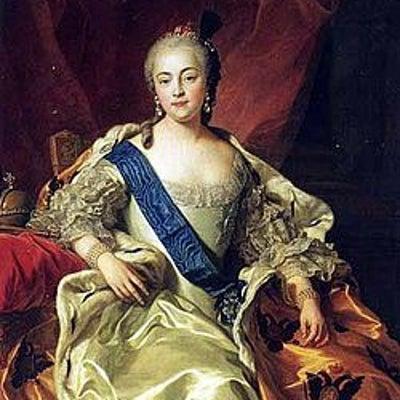 ロシアの驕慢な女帝   エリザヴェータ・ペトロヴナの記事に添付されている画像
