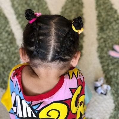 長女のヘアアレンジ♡の記事に添付されている画像