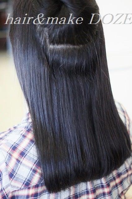 プレミアム縮毛矯正+髪質改善トリートメントで美髪にしてから半年経って。