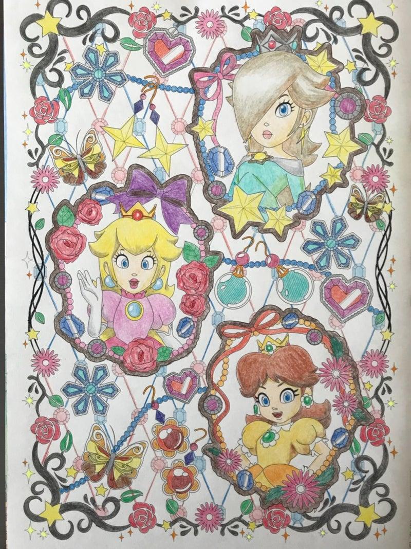プレミアムキャラ塗り絵157 マリオ クーピーのブログ