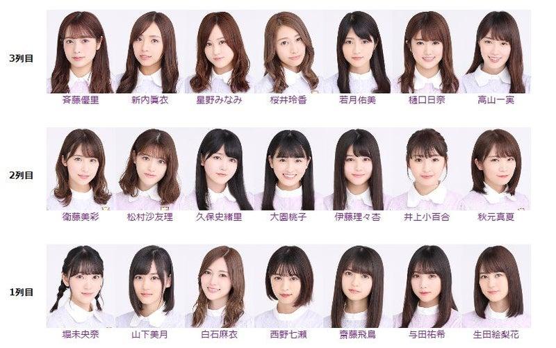 26 乃木坂 選抜