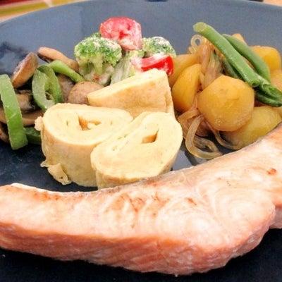 焼き鮭定食の記事に添付されている画像