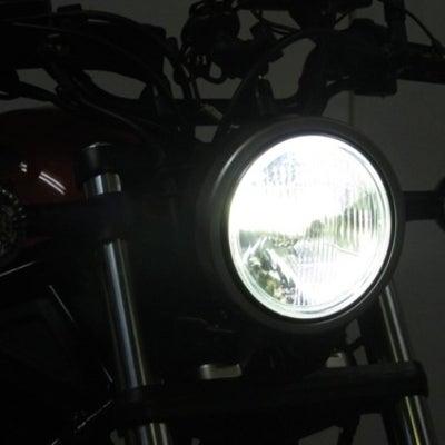 ホンダ レブル250 レブル500にLEDヘッドライトバルブ取付け確認しました。の記事に添付されている画像