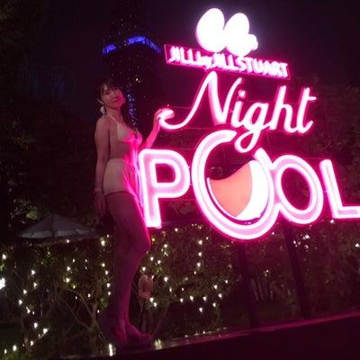 CanCam × Tokyo Prince Hotel Night Poolの記事に添付されている画像
