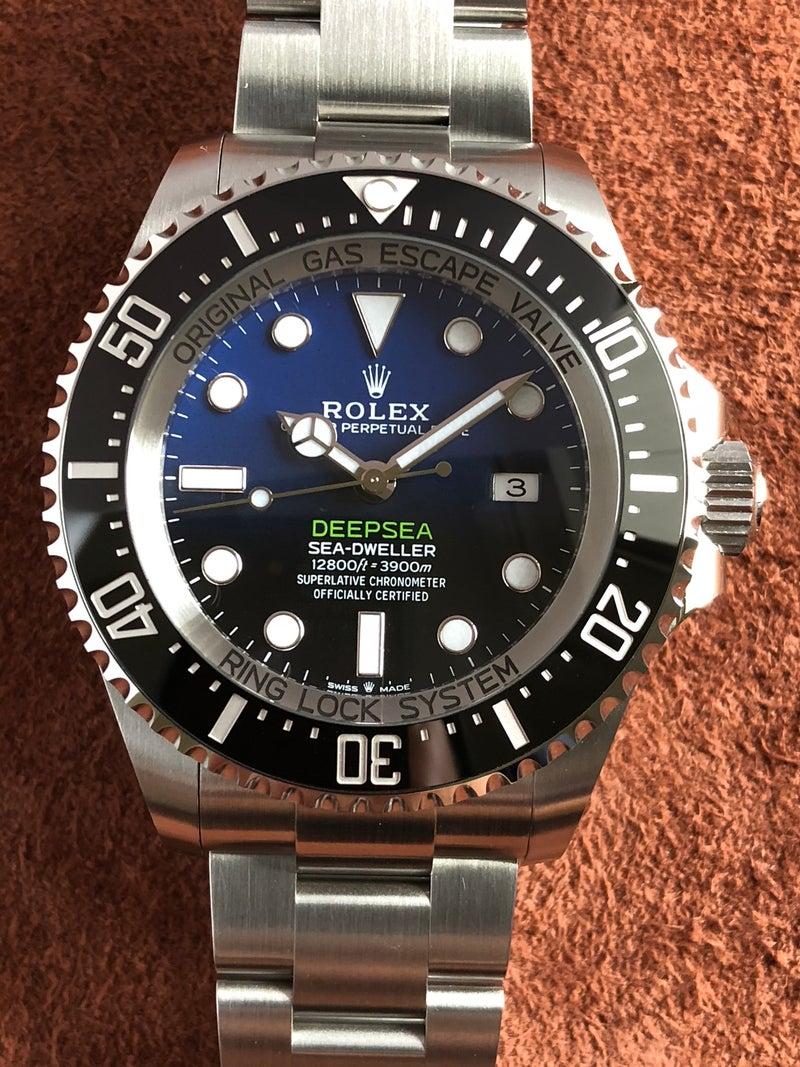 best service 5b797 9a836 ロレックス シードゥエラー ディープシー Ref.126660 SS Dブルー ...