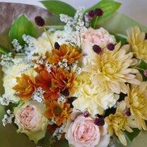 送別の花束の記事に添付されている画像