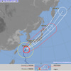 台風24号 枚方市の状況についての画像