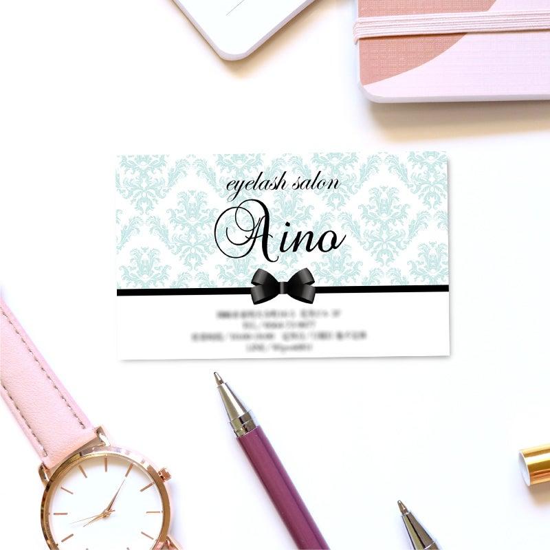 名刺作成デザイン方法,ロゴマーク入り名刺カード