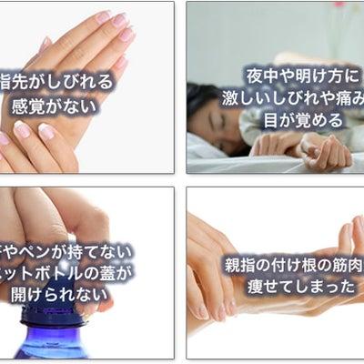 カイロプラクティック的「手の痛み」の記事に添付されている画像