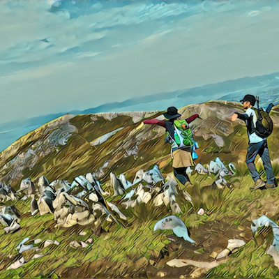 晴れ間を狙って霊仙山へ~榑ヶ畑登山口→お池→経塚山→最高点→霊仙山頂の記事に添付されている画像