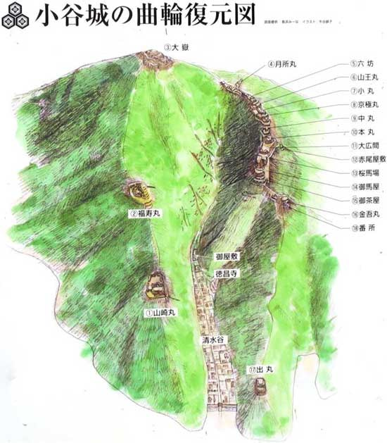 【3】小谷城