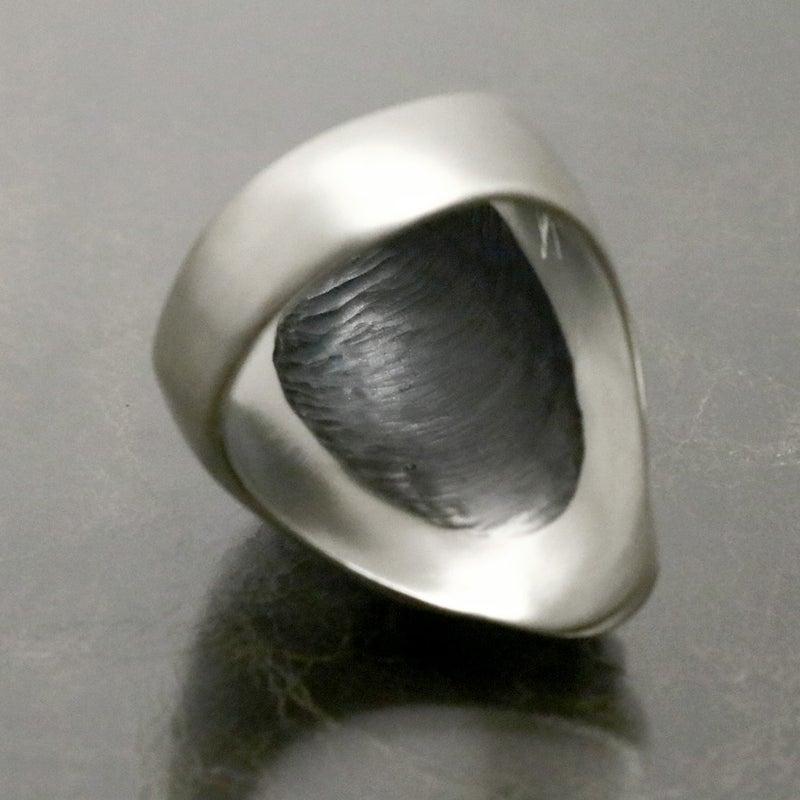 dualflow デュアルフロウ リング 小面 能面 ring シルバーギークス