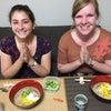 ブラジルとアメリカからのリピーター様と和食レッスン:)外国人向けヴィーガン和食料理教室の画像
